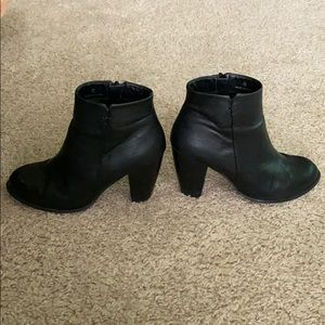 ASOS Black Booties Ankle Boots Sz 36 or 6
